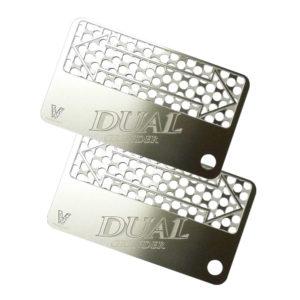 Dual grinder cards