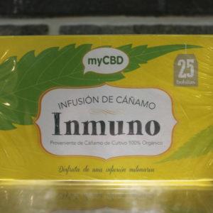 MyCBD Tea Infusion - Inmuno - 25 Bustine
