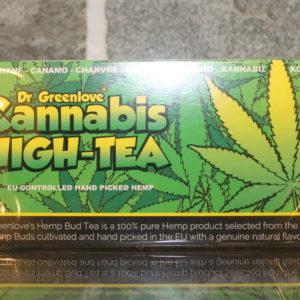 Cannabis high-tea by Dr. Greenlove